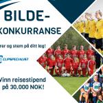 Bildekonkurranse. Registrer og stem på ditt lag. Vinn reisestipend på 30.000 NOK